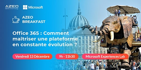 AZEO Breakfast Nantes : Matinée Office 365 billets
