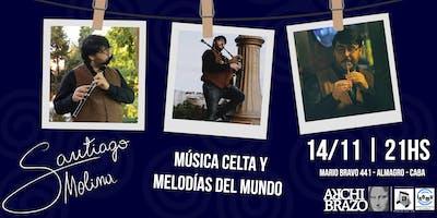 Música Celta en El Archibrazo | Santiago Molina