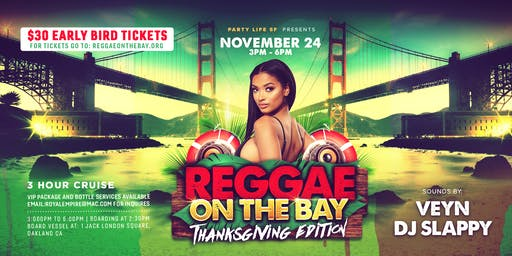 REGGAE ON THE BAY CRUISE