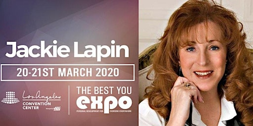 Jackie Lapin at The Best You EXPO 2020, Los Angeles
