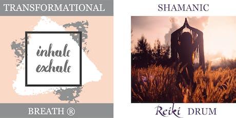 Shamanic Journey, Transformational Breath® & Reiki Drumming Workshop tickets