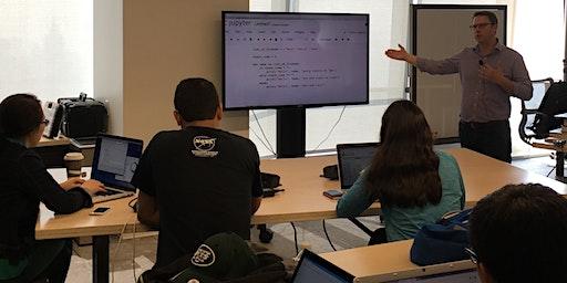 Python Immersive Bootcamp • Start a Career with Python (1 Week Python Bootcamp)