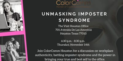 ColorComm Houston Presents: Unmasking Imposter Syndrome