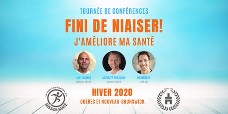FINI DE NIAISER! Les Fortin Mission Santé/Tony Cee TOURNÉE 2020- (CARAQUET) billets