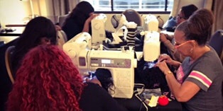 Atlanta, GA | Lace Front Wig Making Class with Sewing Machine