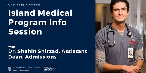 Island Medical Program Info Session with Dr. Shahin Shirzad