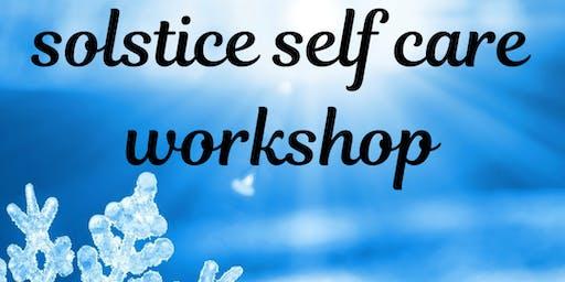 Solstice Self Care Workshop