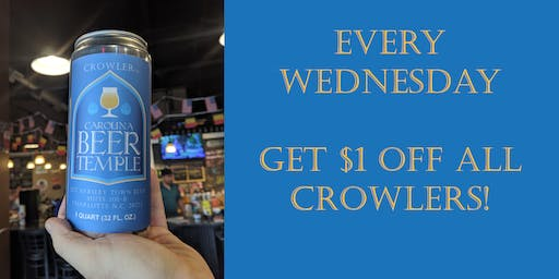$1 Off Crowlers
