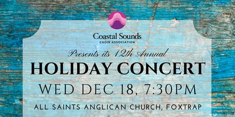 CSCA's 12th Annual Holiday Concert & 7th Annual Christmas Cantata tickets