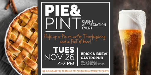 Pie & Pint Client Appreciation Event
