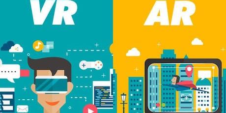 Workshop di VR-Realtà Virtuale e AR-Realtà Aumetata  biglietti