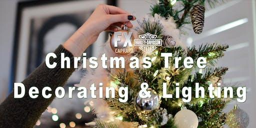 Christmas Tree Decorating & Lighting #atFXCHD