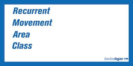 Class 3 License Recurrent Movement Area Certification Class   Wednesdays tickets