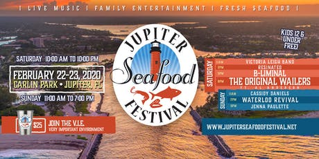 2020 Jupiter Seafood Festival - Feb. 22,23 tickets