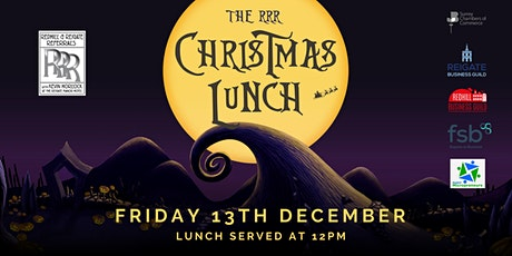 RRR Christmas Lunch 2019 tickets
