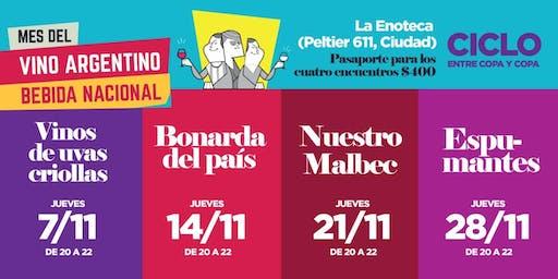 Ciclo Entre copa y copa: Especial Mes del Vino Argentino