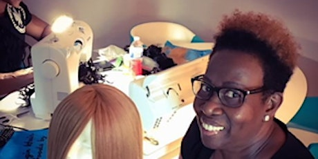 Los Angeles, CA | Custom Enclosed Wig Making Class with Sewing Machine tickets