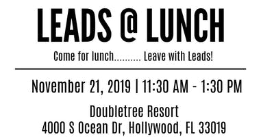 Leads@Lunch