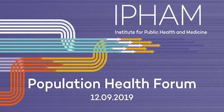 2019 Population Health Forum at Northwestern University tickets