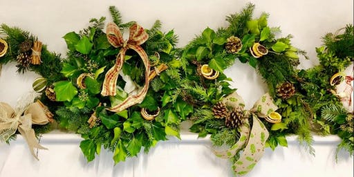 Festive Wreath Making Workshop & Lunch at Parish's House, Timsbury