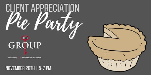 Pie Party - The Group, Keller Williams Realty