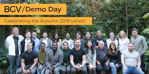 BGV Demo Day - Celebrating our Autumn 2019 cohort