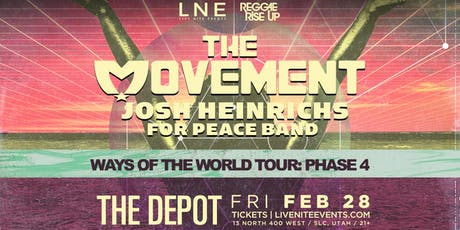 The Movement - Ways Of The World Tour tickets