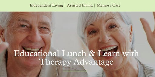 Educational Lunch & Learn with Therapy Advantage