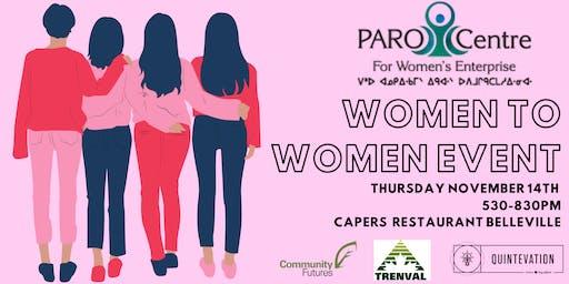 Women to Women Paro Event