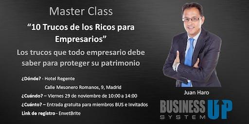Evento Business Up MADRID (noviembre)