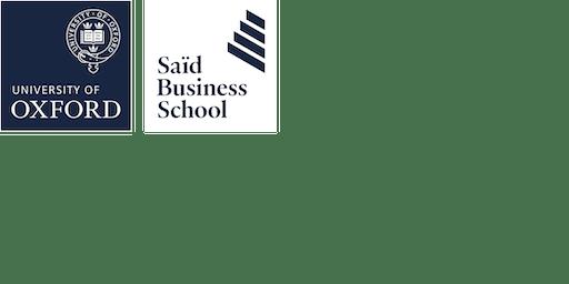 Jørn Lyseggen at Saïd Business School