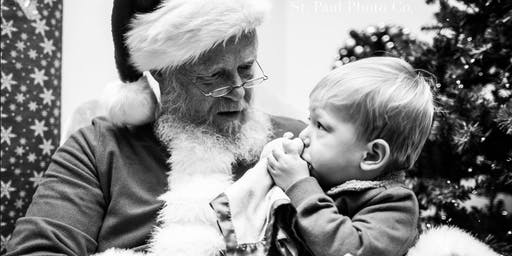 Santa and Mrs. Claus at Teeny Bee Boutique - Dec 8th