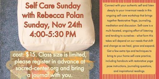 Self-Care Sunday with Rebecca Polan
