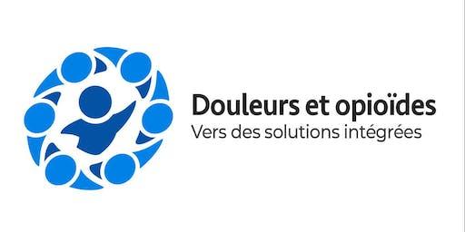 Invitation au lancement Douleurs et opioïdes : vers des solutions intégrées