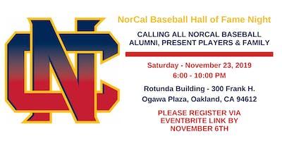 NorCal Baseball Hall of Fame Night