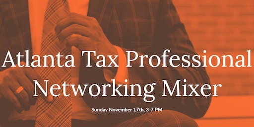 Atlanta Tax Professionals Networking Event