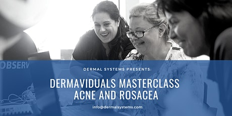 Dermaviduals Masterclass  ACNE and ROSACEA tickets