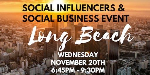 Social Influencers & OTG Social Business Event - November