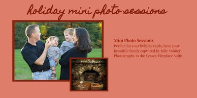 Fireplace Holiday Mini Sessions