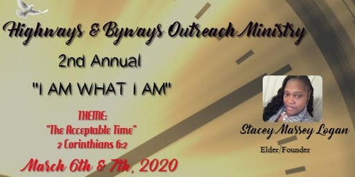 """""""I AM what I AM"""" 2020 Conference"""