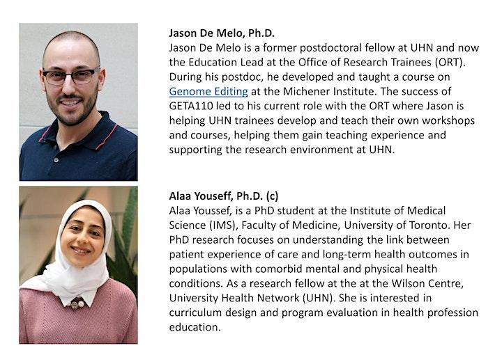 ORT Workshop: Academic Teaching Dossiers image