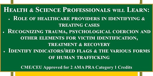 Human Trafficking:  Insight for Healthcare Providers