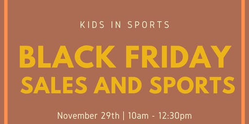 Black Friday Sales & Sports