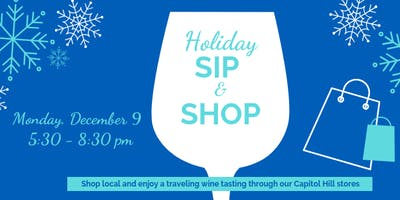 Capitol Hill Holiday Sip & Shop