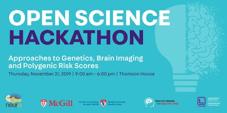 HACKATHON Approaches to Genetics, Brain Imaging & Polygenic Risk Scores tickets