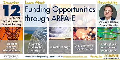 Advanced Research Projects Agency-Energy (ARPA-E) SEMINAR tickets