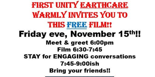 EarthCare hosts the movie Paris to Pittsburgh