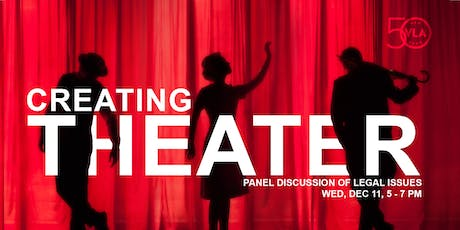 Creating Theater: Panel Discussion of Legal Issues (CLE) tickets