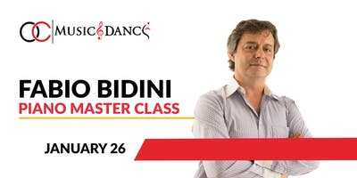 Fabio Bidini Piano Master Class - January 26th