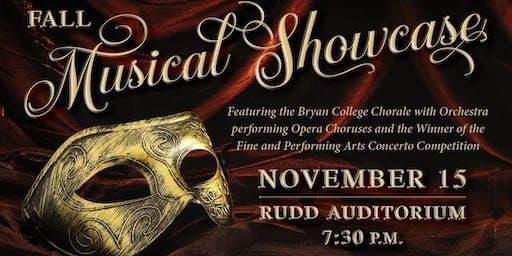 Fall Musical Showcase